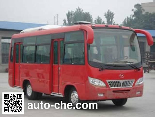 川马牌CAT6660DYC城市客车