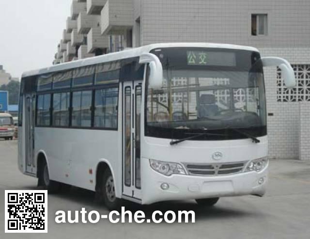 川马牌CAT6780EET城市客车