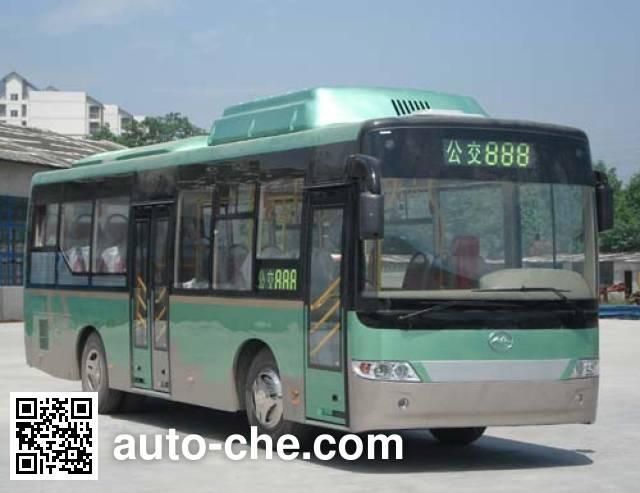川马牌CAT6980EETR城市客车