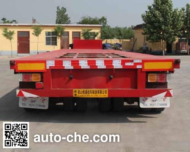 恒通梁山牌CBZ9400TDPXZ低平板半挂车
