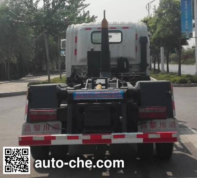 Huaxing CCG5120ZXX detachable body garbage truck