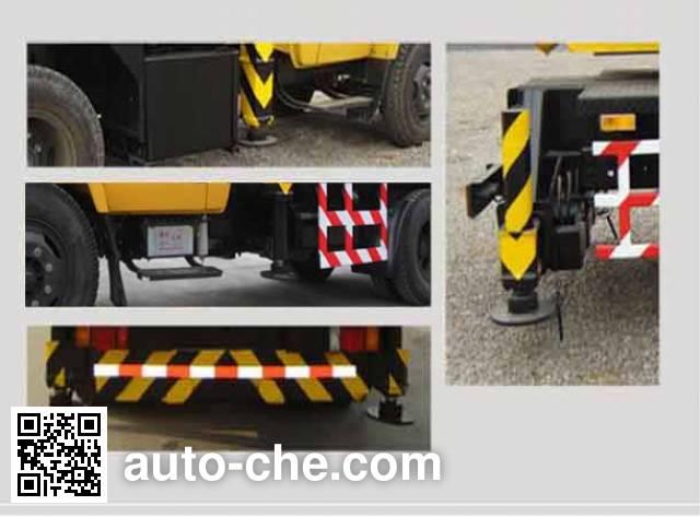 Guotong CDJ5100JQZ8GK16 truck crane