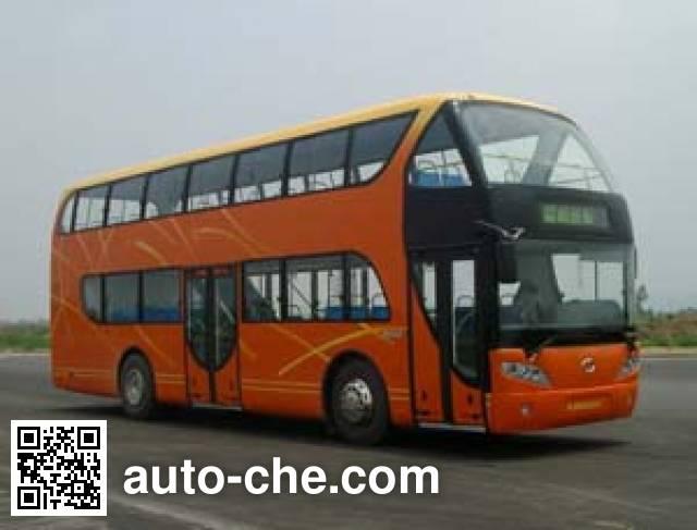 蜀都牌CDK6110CADS双层城市客车