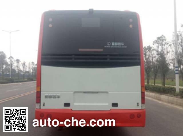 蜀都牌CDK6112CEG5HEV插电式混合动力城市客车