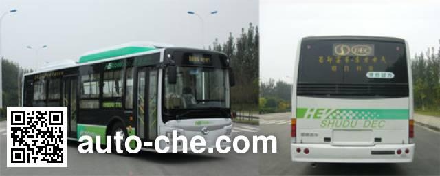 蜀都牌CDK6113CEHEV混合动力城市客车