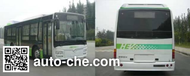 蜀都牌CDK6113CEHEV1混合动力城市客车