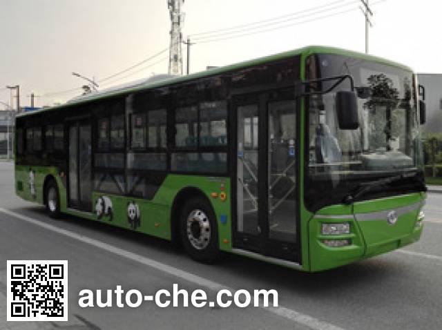 蜀都牌CDK6126CBEV纯电动城市客车