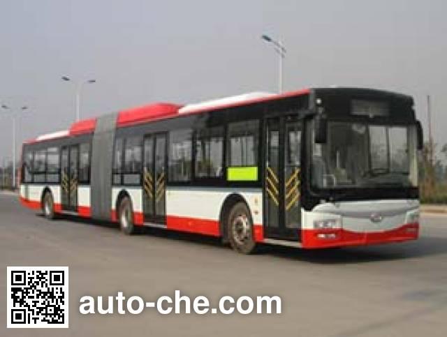 蜀都牌CDK6182CHR铰接城市客车