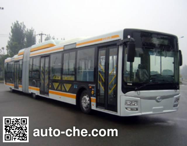 蜀都牌CDK6182CH1R铰接城市客车