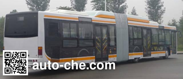 蜀都牌CDK6182CA1R铰接城市客车