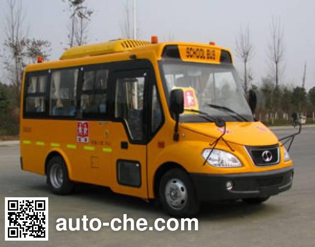 蜀都牌CDK6570XED幼儿专用校车