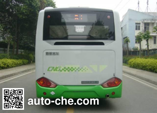 蜀都牌CDK6780CEG5R城市客车