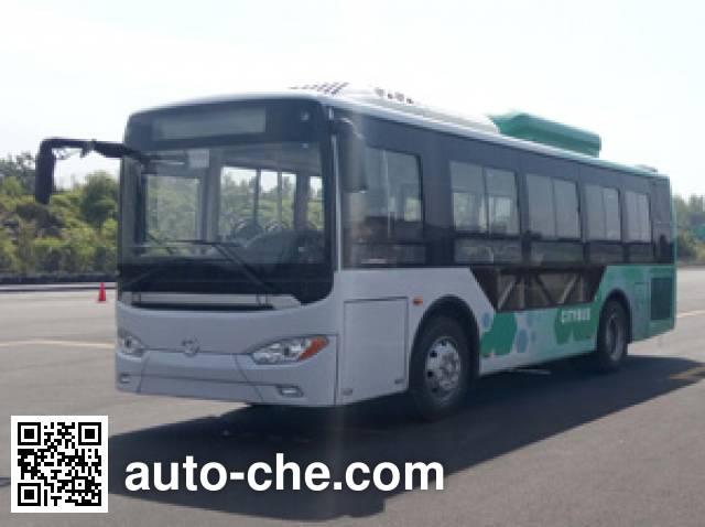 蜀都牌CDK6850CEHEV插电式混合动力城市客车