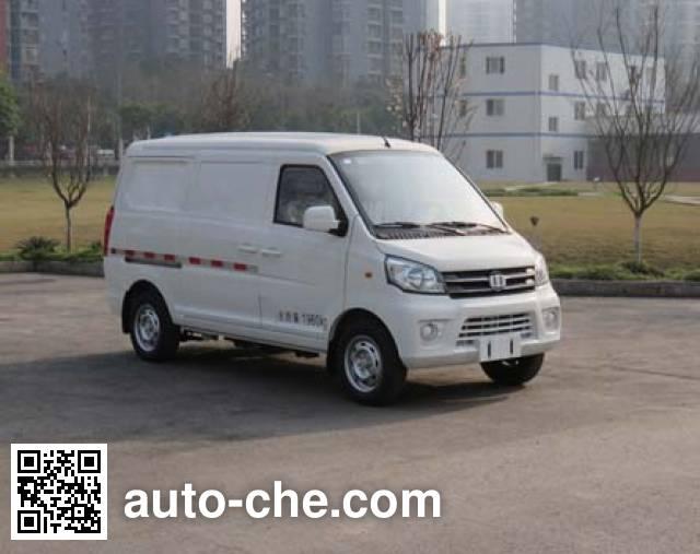 中植汽车牌CDL5020XXYBEV1纯电动厢式运输车