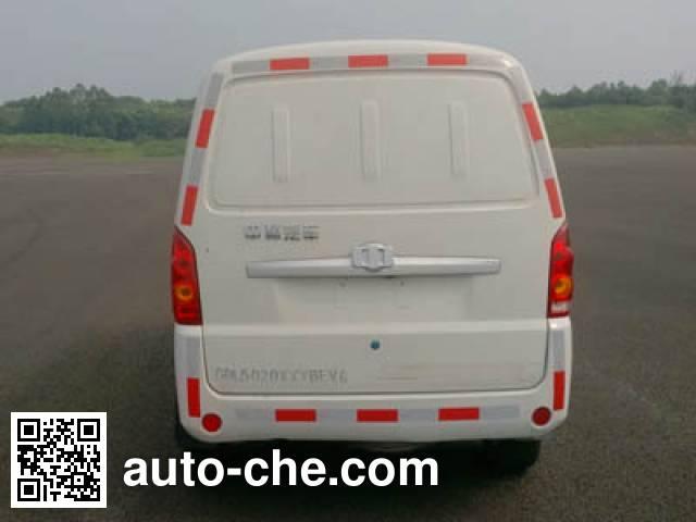 中植汽车牌CDL5020XXYBEV4纯电动厢式运输车