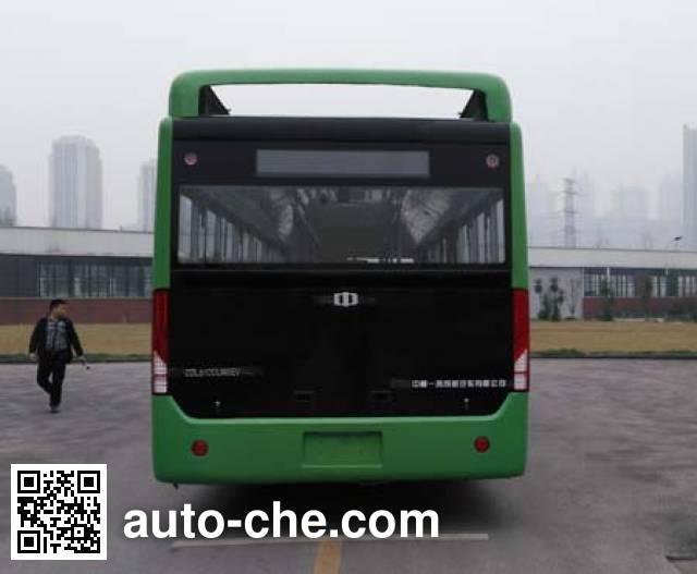 中植汽车牌CDL6100UWBEV纯电动城市客车