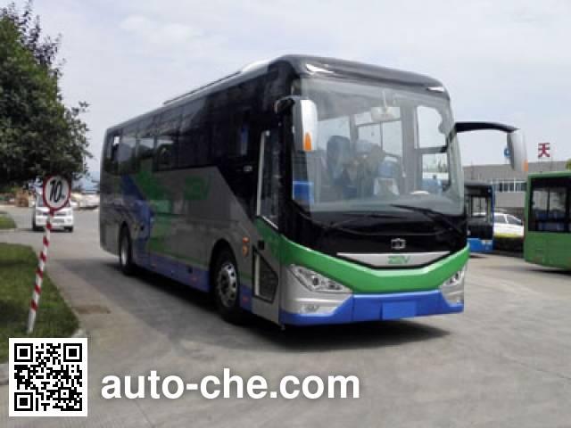 中植汽车牌CDL6110LRBEV纯电动客车