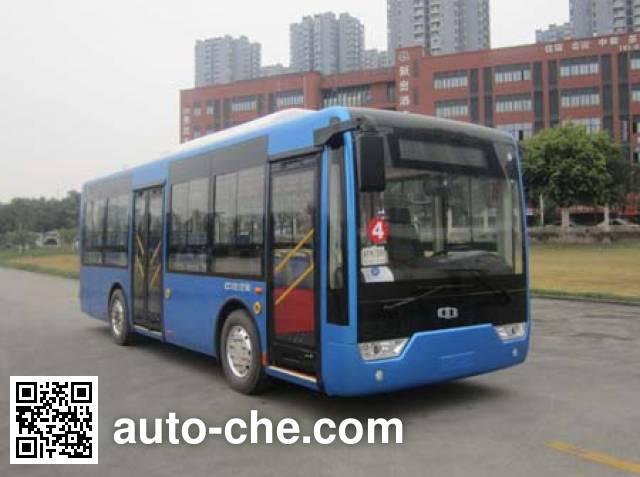 中植汽车牌CDL6810UWBEV纯电动城市客车