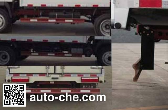 Sinotruk CDW Wangpai CDW5040XXYHA3R5 box van truck