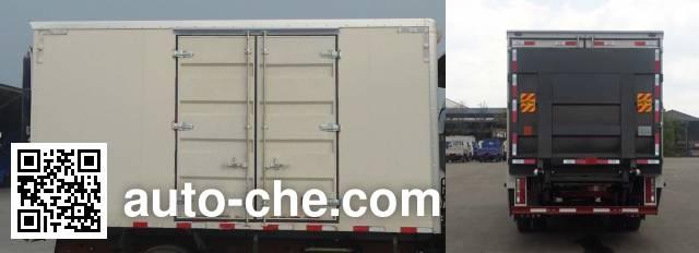 Sinotruk CDW Wangpai CDW2040XXYHA1R4 cross-country box van truck