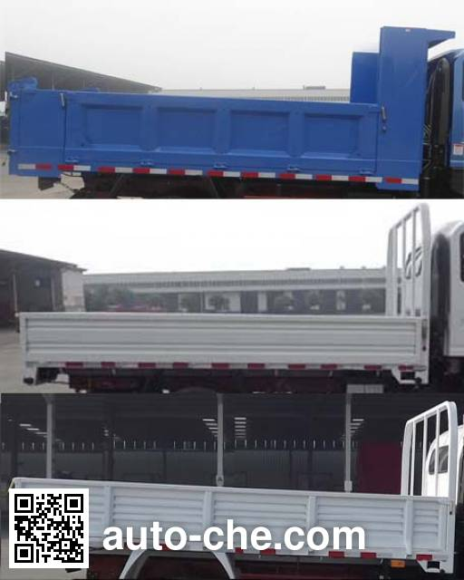 Sinotruk CDW Wangpai CDW3091A3B4 dump truck