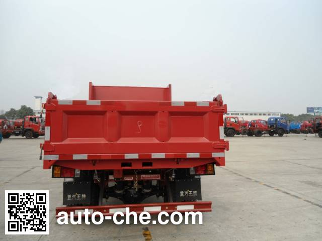 王牌CDW4010PD2A3自卸低速货车