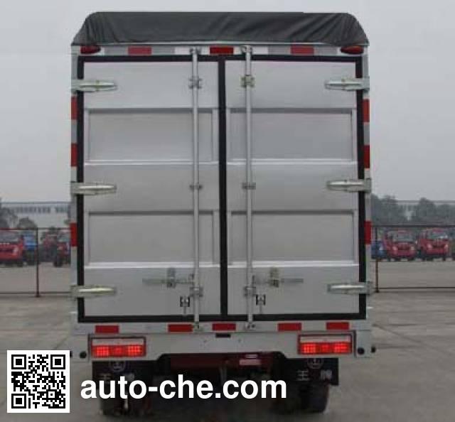 Sinotruk CDW Wangpai CDW5030CPYHA1Q4 soft top box van truck