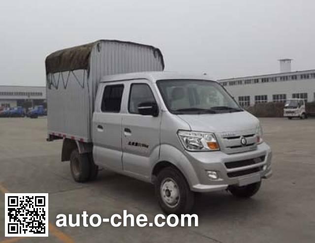 Sinotruk CDW Wangpai CDW5030CPYS1M3 soft top box van truck