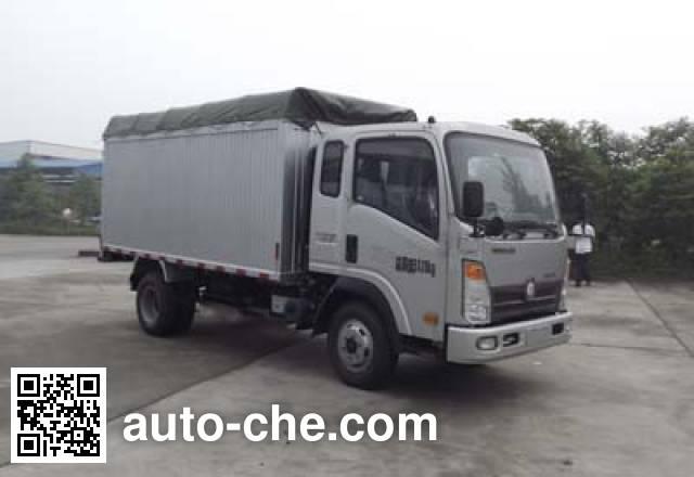 Sinotruk CDW Wangpai CDW5032CPYHA1P4 soft top box van truck