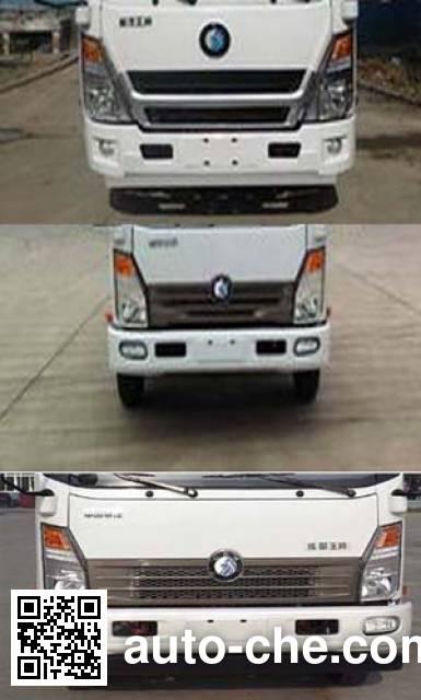 Sinotruk CDW Wangpai CDW5040CCYHA3Q4 stake truck