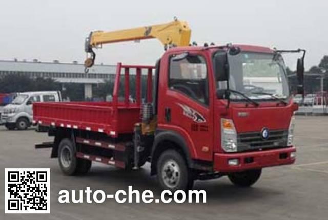 Sinotruk CDW Wangpai CDW5040JSQHA1R5 truck mounted loader crane