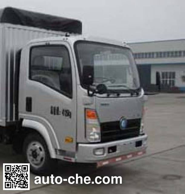 Sinotruk CDW Wangpai CDW5045CPYHA1A4 soft top box van truck