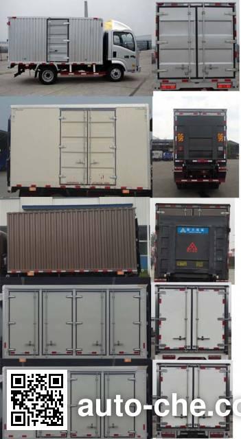 Sinotruk CDW Wangpai CDW5070XXYA1Q5 box van truck