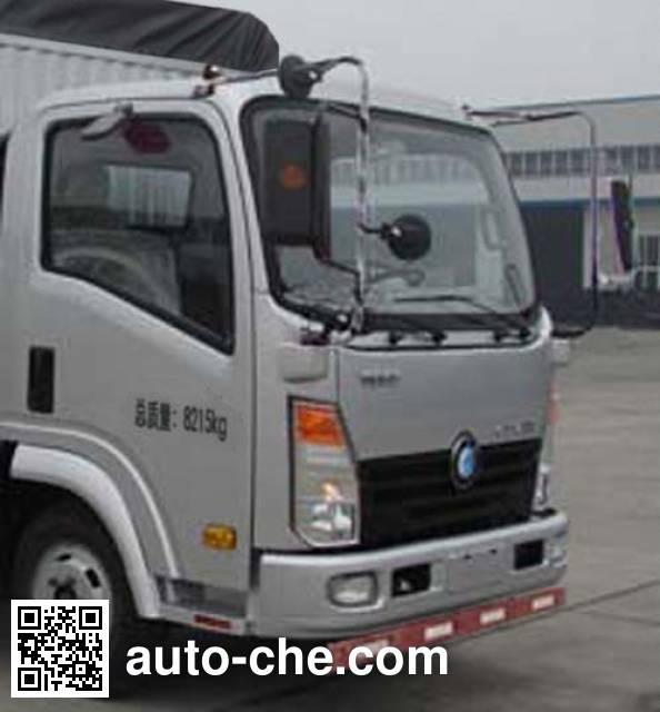 Sinotruk CDW Wangpai CDW5083CPYHA1B4 soft top box van truck