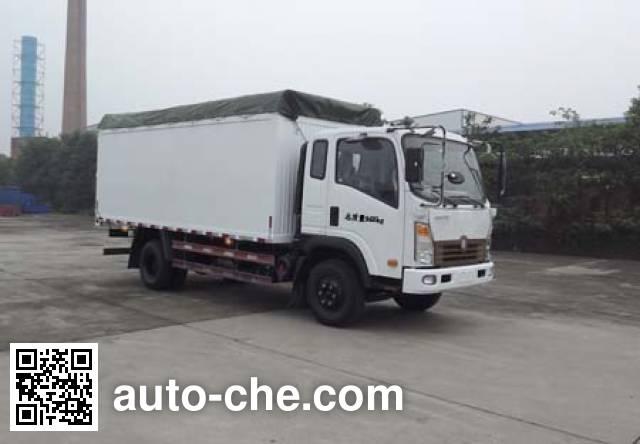 Sinotruk CDW Wangpai CDW5161CPYHA1R5N soft top box van truck