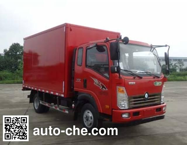Sinotruk CDW Wangpai CDW5090XXYA1R5 box van truck