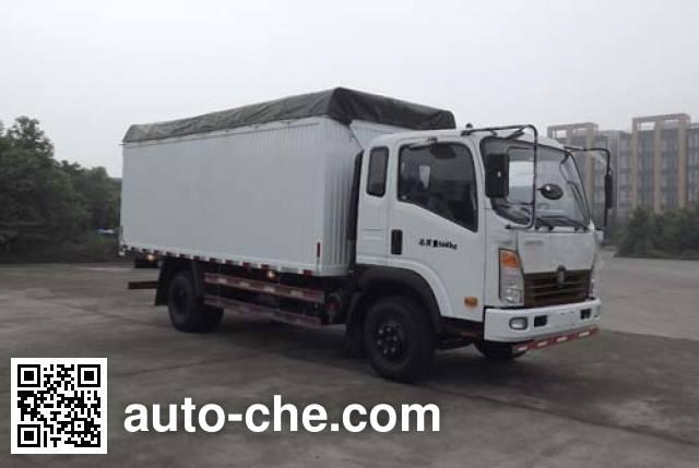 Sinotruk CDW Wangpai CDW5120CPYHA1R4 soft top box van truck
