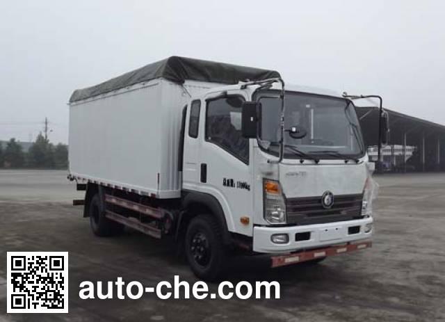 Sinotruk CDW Wangpai CDW5120CPYHA2R4 soft top box van truck