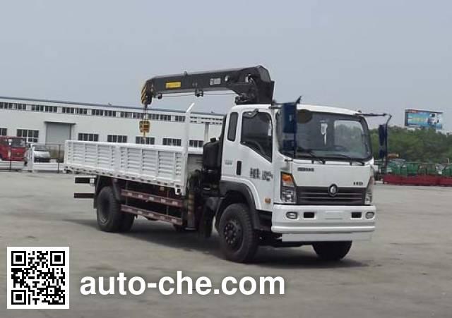 Sinotruk CDW Wangpai CDW5120JSQHA2R4 truck mounted loader crane