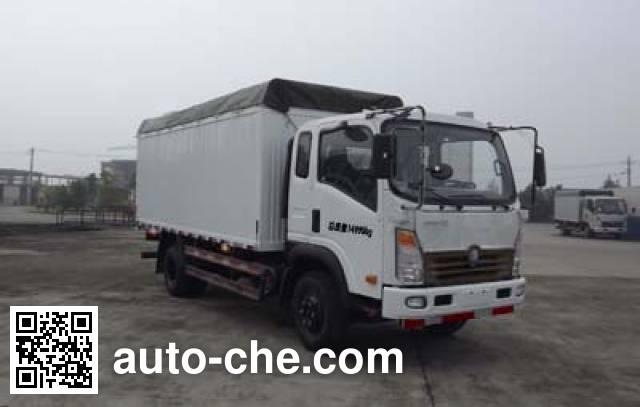 Sinotruk CDW Wangpai CDW5150CPYA1C4 soft top box van truck