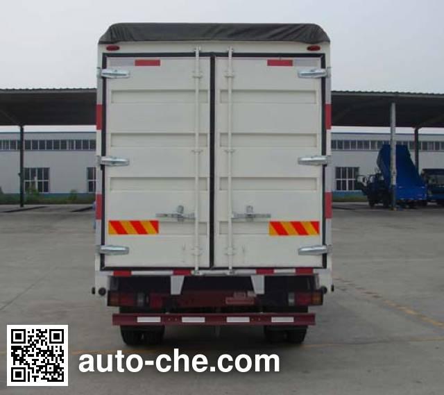Sinotruk CDW Wangpai CDW5160CPYHA1R4 soft top box van truck