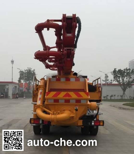 王牌牌CDW5160THBHA1R4混凝土泵车