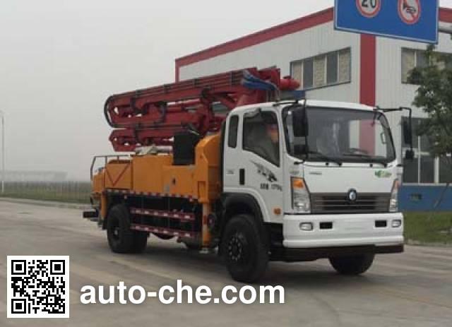 Sinotruk CDW Wangpai CDW5160THBHA1R4 concrete pump truck