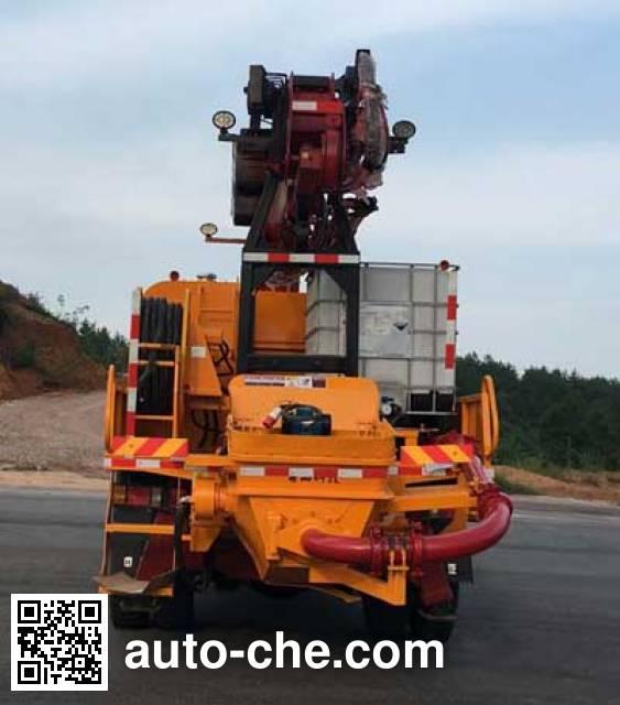Sinotruk CDW Wangpai CDW5160TPJA1R5 concrete spraying truck