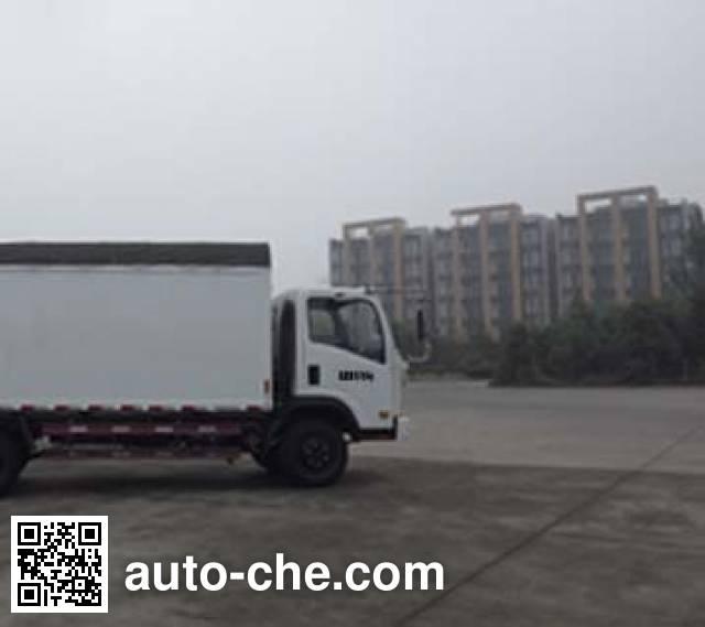 Sinotruk CDW Wangpai CDW5161CPYHA1R4 soft top box van truck
