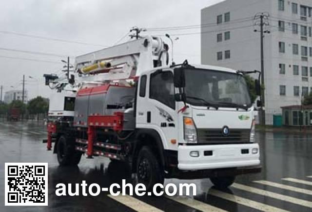 Sinotruk CDW Wangpai CDW5180THBA1R5 concrete pump truck