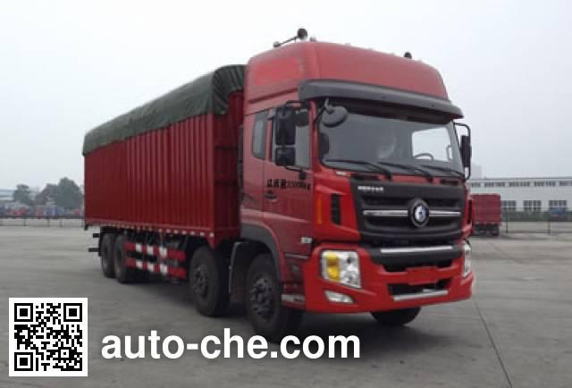 Sinotruk CDW Wangpai CDW5310CPYA1T4 soft top box van truck