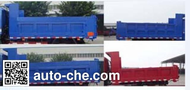 王牌牌CDW4010PD5A2自卸低速货车