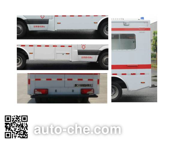 Zhongchiwei CEV5040XJH2 ambulance