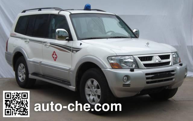 Mitsubishi CFA5037XXJ blood plasma transport medical car